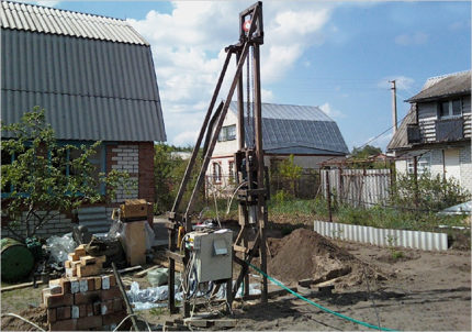 Professional well drilling