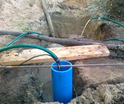 How to repair a well in the country with your own hands