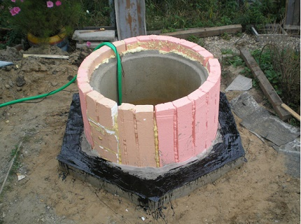 How to properly insulate a well for the winter