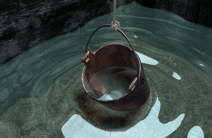 Dilution d'une solution de chlore avec une masse totale de liquide