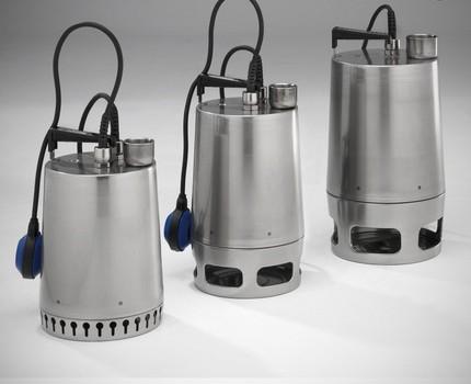 Import equipment Grundfos
