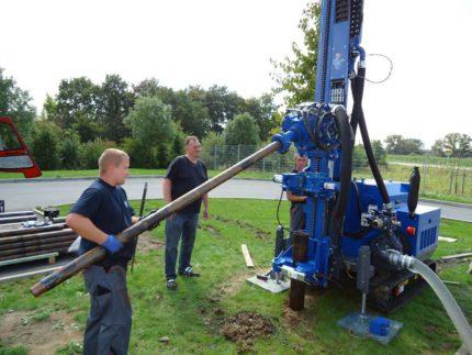 Artesian Well Drilling Equipment