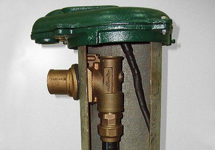 Connection adapter to the drainpipe