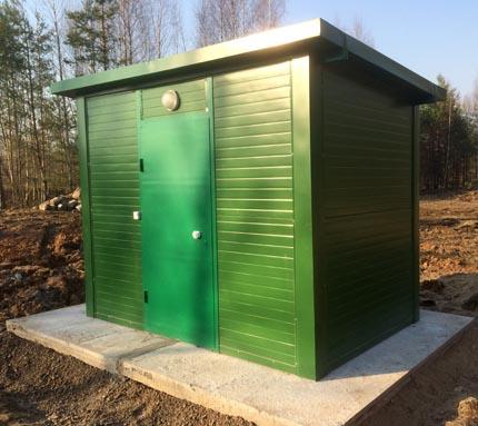 container pavilion