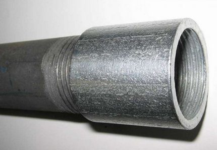 Split drill pipe