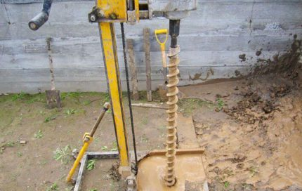 Abyssinian well drilling