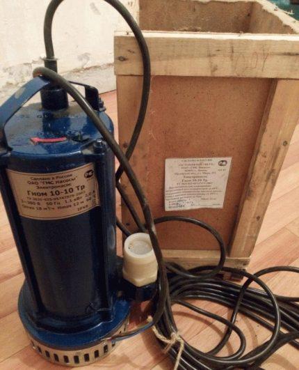 Gnome Three Phase Water Pump
