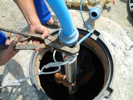 Well pump replacement