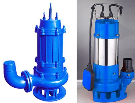 Gnome submersible pump for pumping dirty water