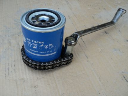 Oil filter puller