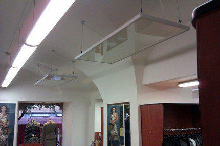 Ceiling IR Panels