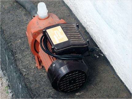 Base for agidel pump