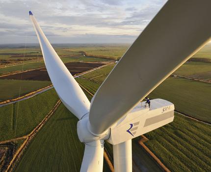 Windmills - a type of alternative energy source