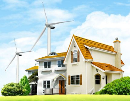 Alternative energy for the home from wind generators