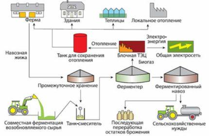Industrial bio-installation