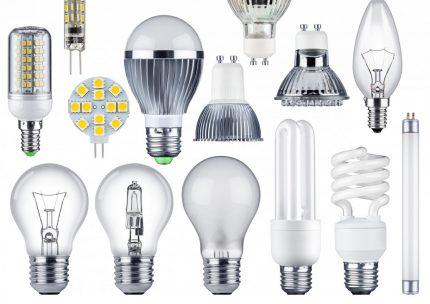 Lampes pour l'éclairage domestique