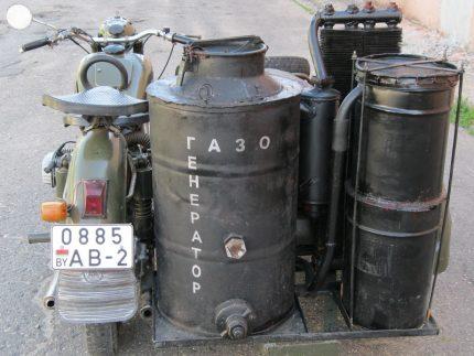 Générateur de gaz fait maison