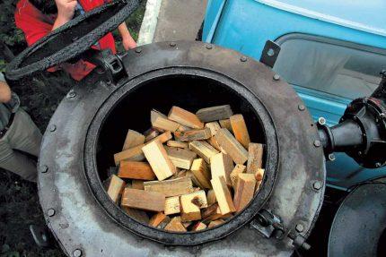 Allumage d'un générateur de gaz