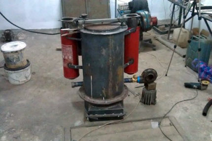 Homemade gas generator