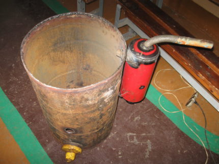 Chambre de combustion et filtre d'épuration