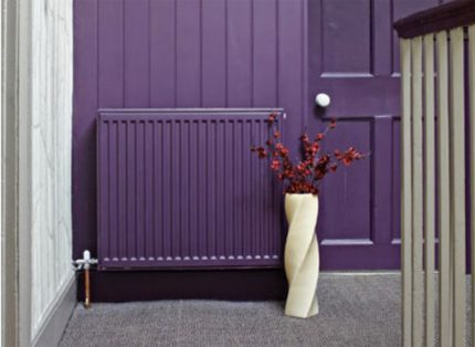 How interesting to paint a heating radiator