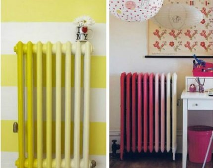What method can I make a radiator