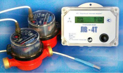 Débitmètre d'eau électronique