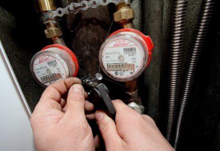Comment l'option d'installation affecte le choix des compteurs d'eau