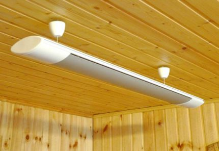 Which heater is better for arranging a wooden house