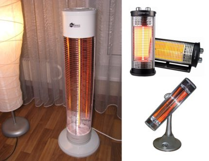 Carborne infrared heater for home