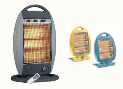 How to choose a halogen heater for home and office