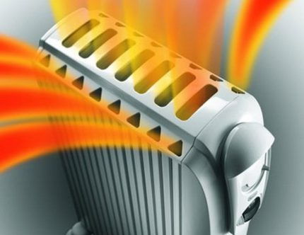 Oil heater device specifics