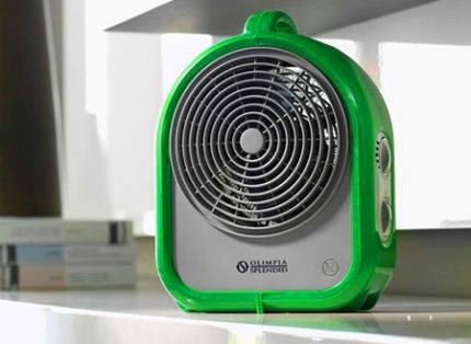 How to choose the fastest fan heater for an apartment