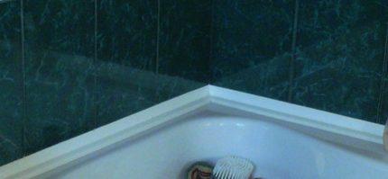 Golvlister i badkar