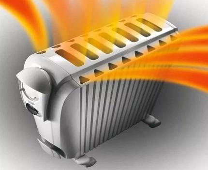 Le principe de fonctionnement du chauffe-huile