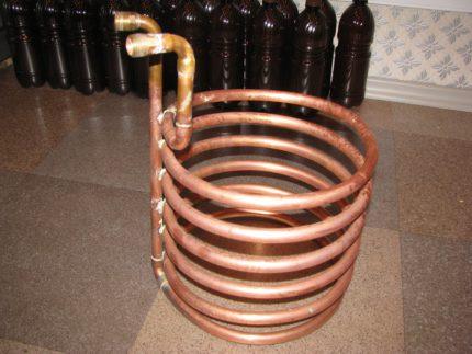 DIY heat pump heat exchanger