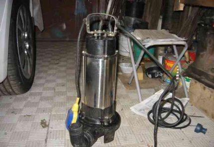 Pump drainage NPC 1350