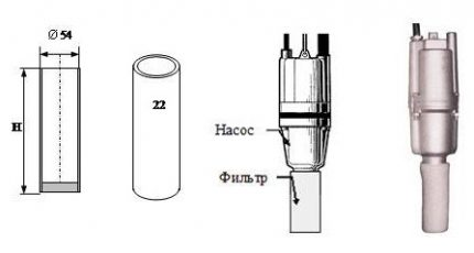 How to make a filter for a submersible pump Kid