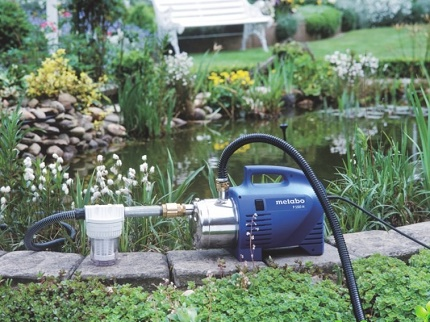 What is a surface pump for fountains