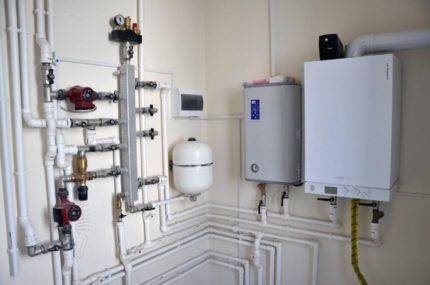 Proper strapping increases boiler efficiency