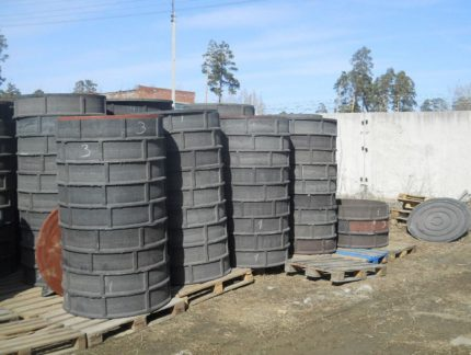What is a prefabricated polymer sand well