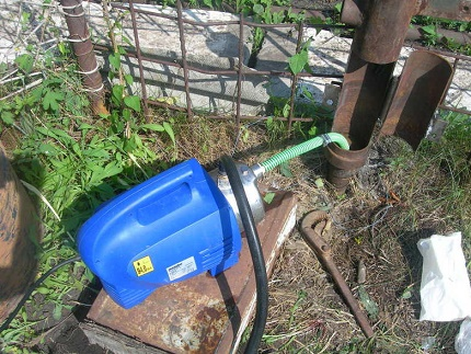 Features of installing a surface pump
