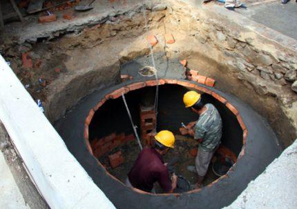 Underground installation