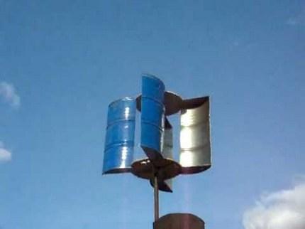 Rotoriaus tipo vėjo generatorius