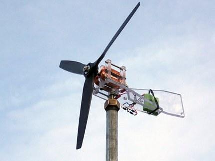 Ašinė vėjo turbina