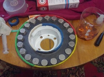 Pasiruošimas taisyti magnetus