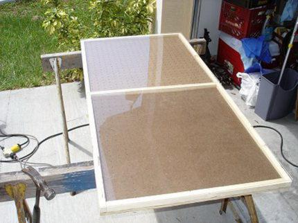 Plexiglas for solar panels