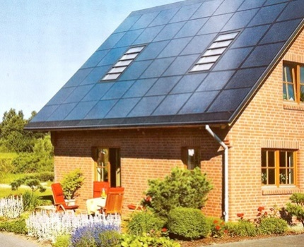 Which side to install the solar heating system appliances