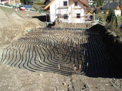 Ground-water heat pump manifold
