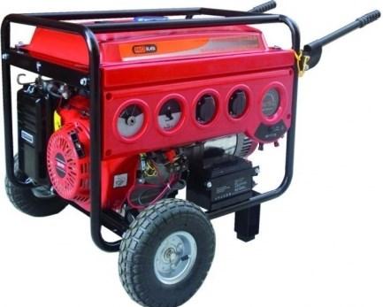 Electric generator for heat pump water water